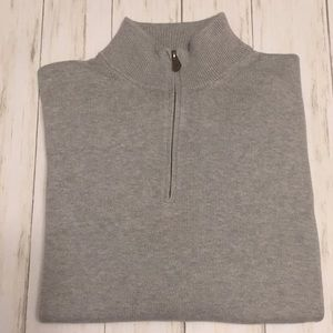 Brooks Brothers 1/4 Zip Sweater. Size XXL.